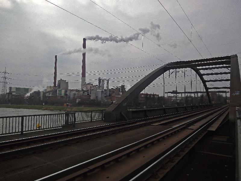 Mainbrücke bei Stockstadt