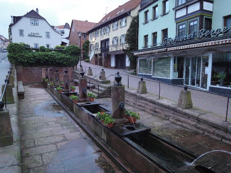 Brunnenanlage in Brensbach