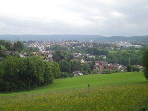 Blick auf Erbach