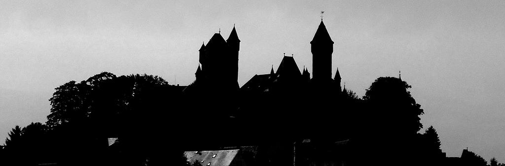 Scherenschnitt Burg Braunfels