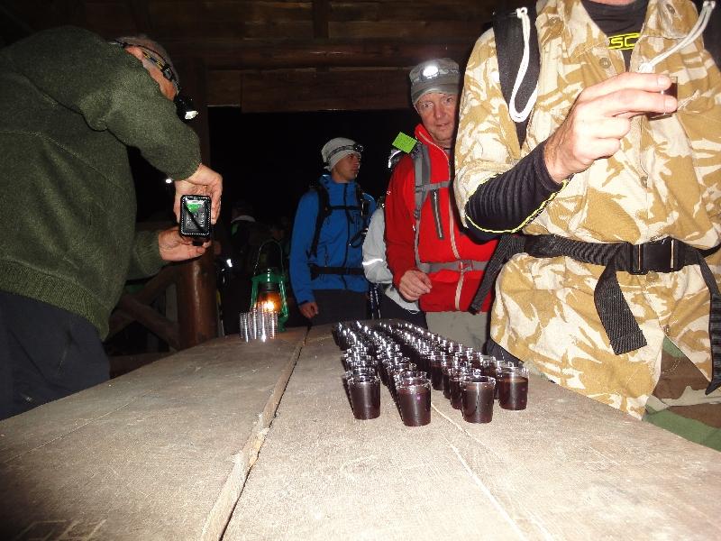 Leberkleister in der Jägerhütte