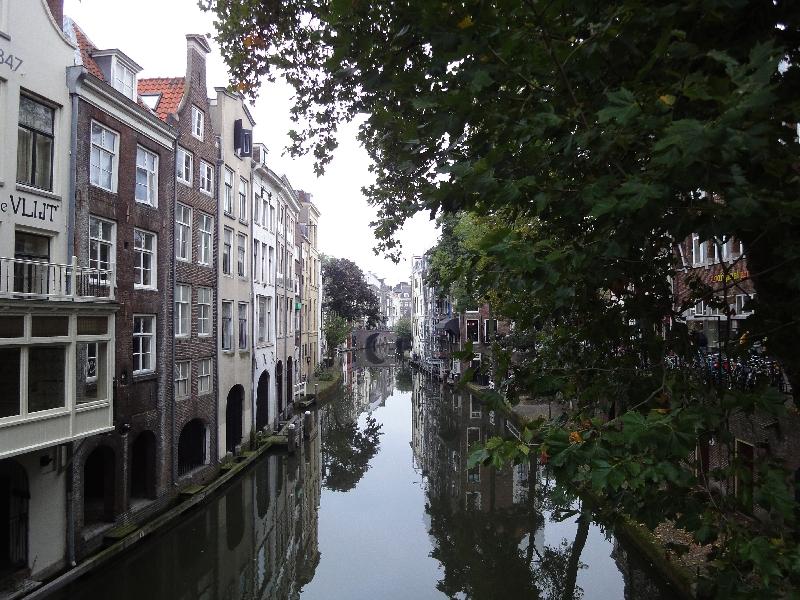 Grachtenimpression in Utrecht