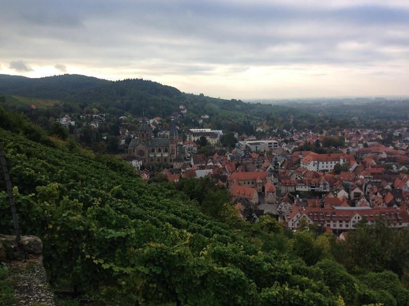 Blick über Heppenheim