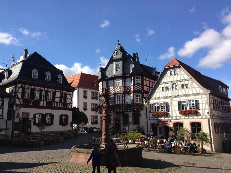 Marktplatz in Heppenheim