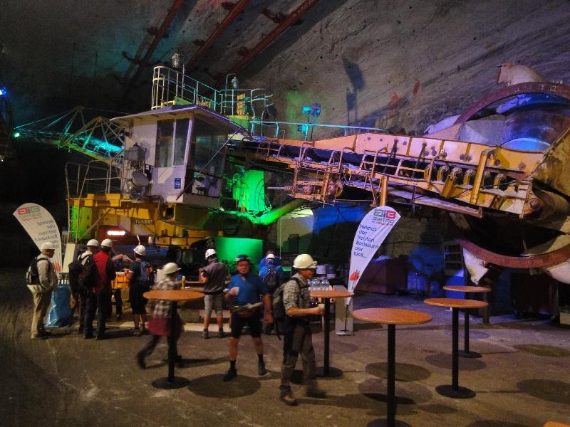 Der größte unterirdische Schaufelradbagger der Welt