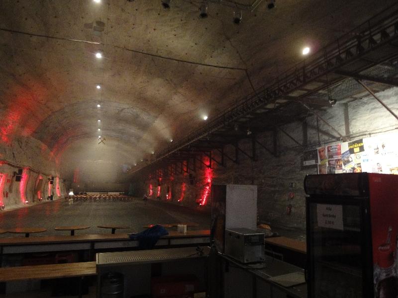 Blick in die Konzerthalle