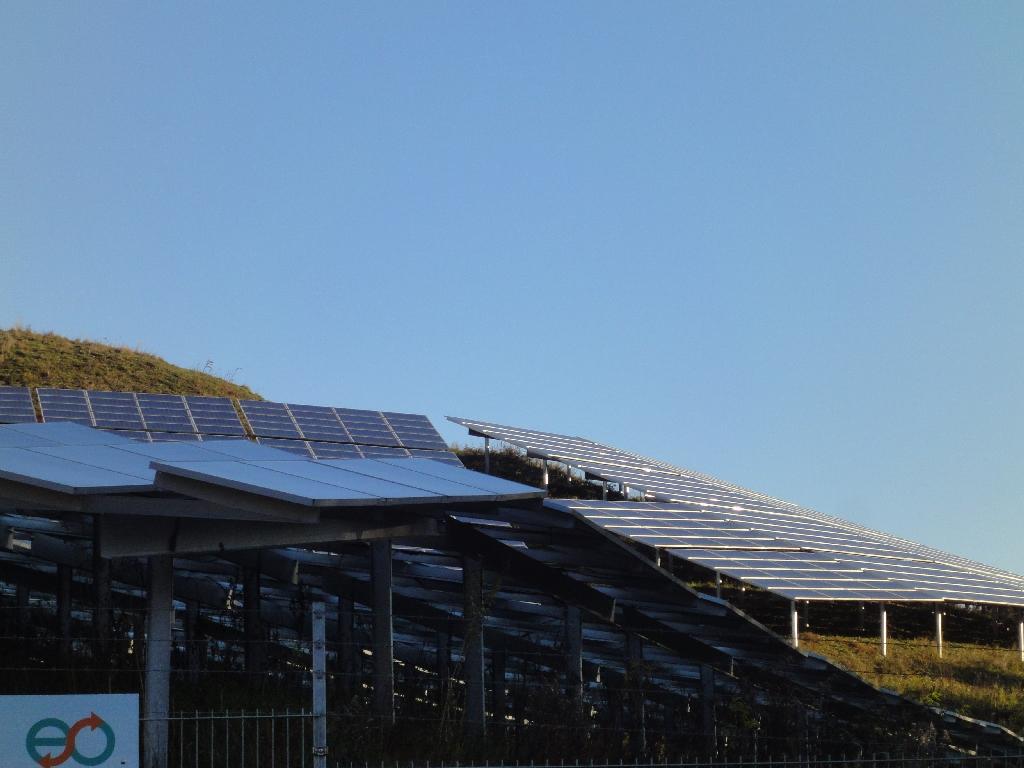Photovoltaik-Schneckenberg