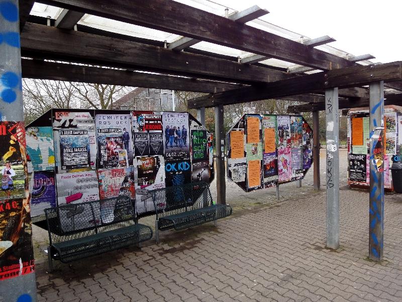 Studentenhaltestelle Lichtwiese
