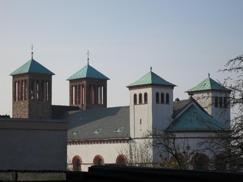 Die klassizistische St. Georgskirche