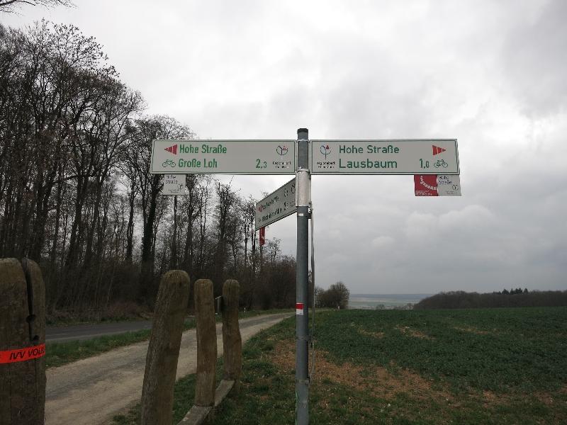 Hohe Straße am Regionalpark