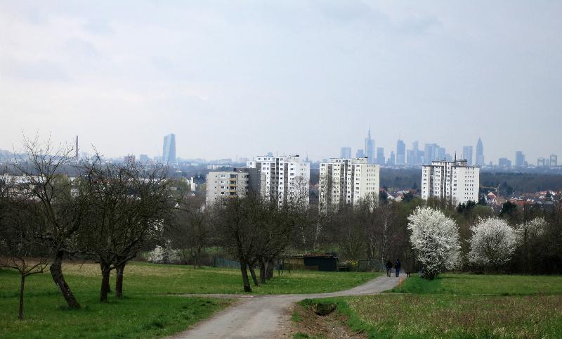 Blick auf die Skyline