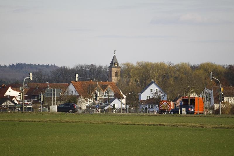 Blick nach Harpertshausen