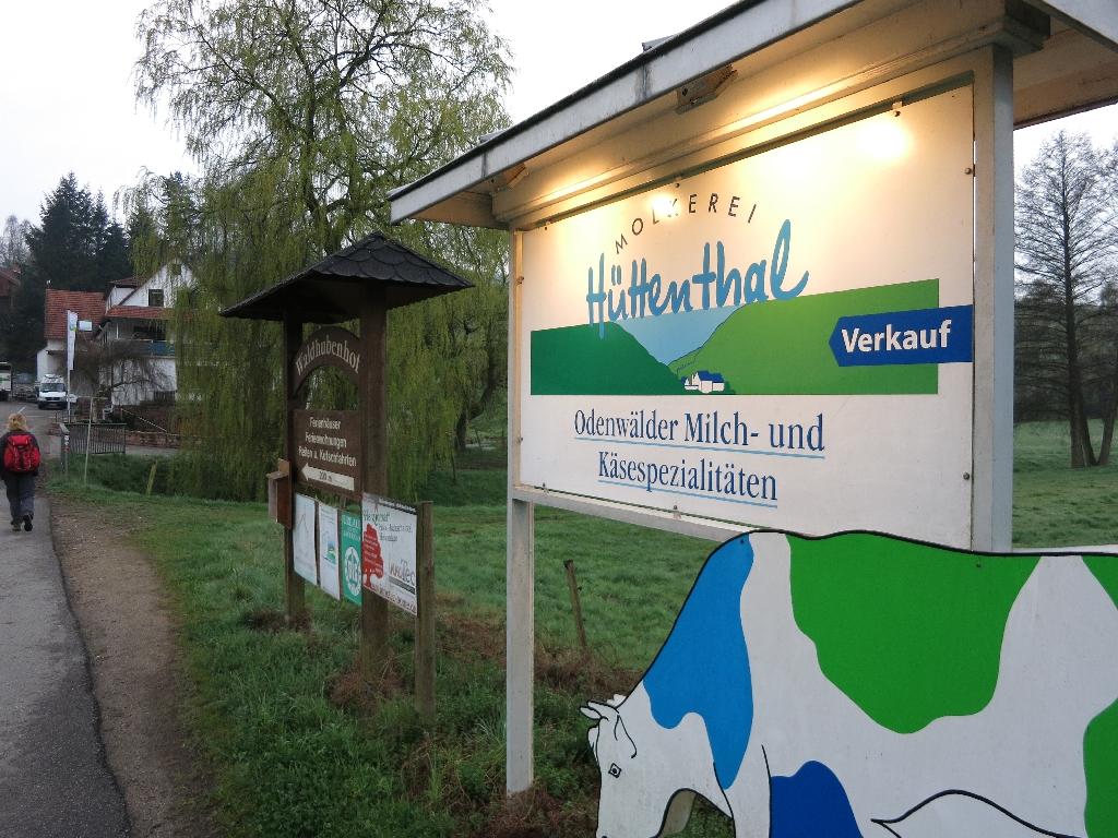 Molkerei in Hüttenthal