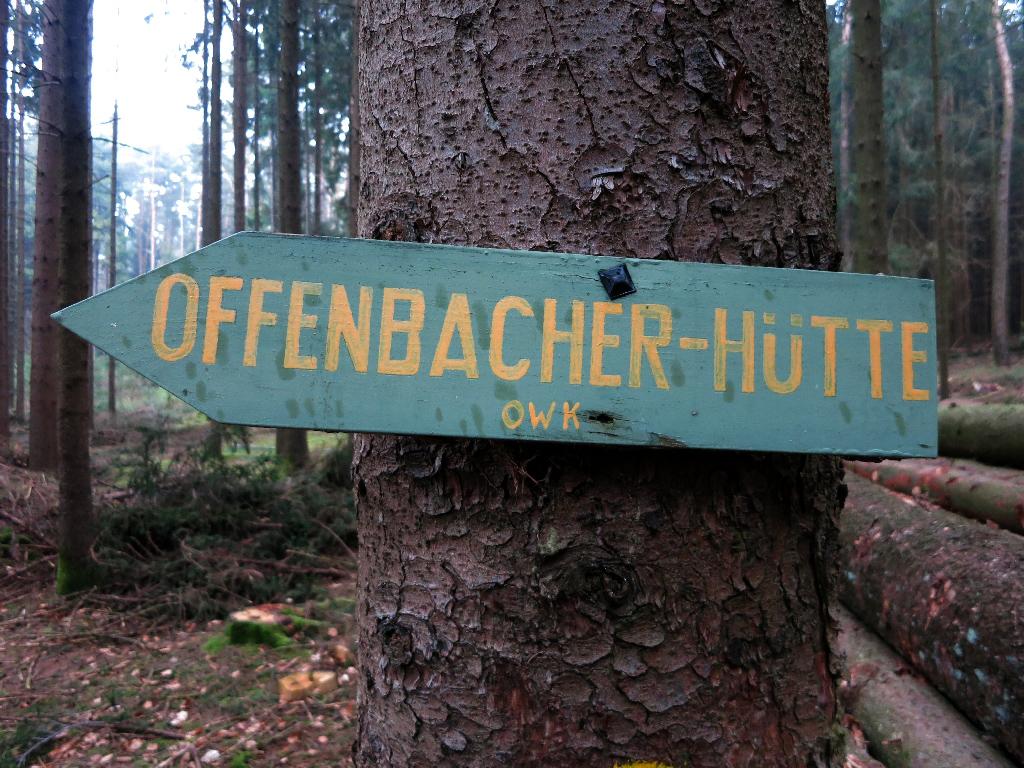 Offenbacher Impression im Odenwald