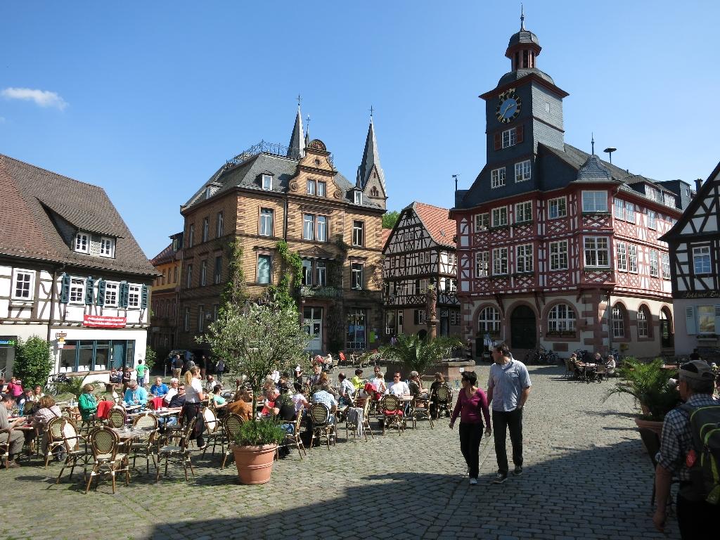Rathausplatz in Heppenheim