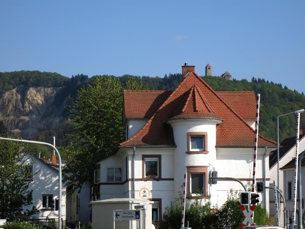 Weinheim mit der Wachenburg