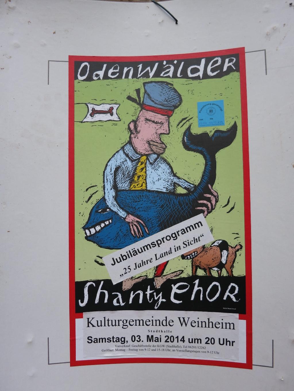 Kaum zu glauben aber wahr: Chanty Chor im Odenwald