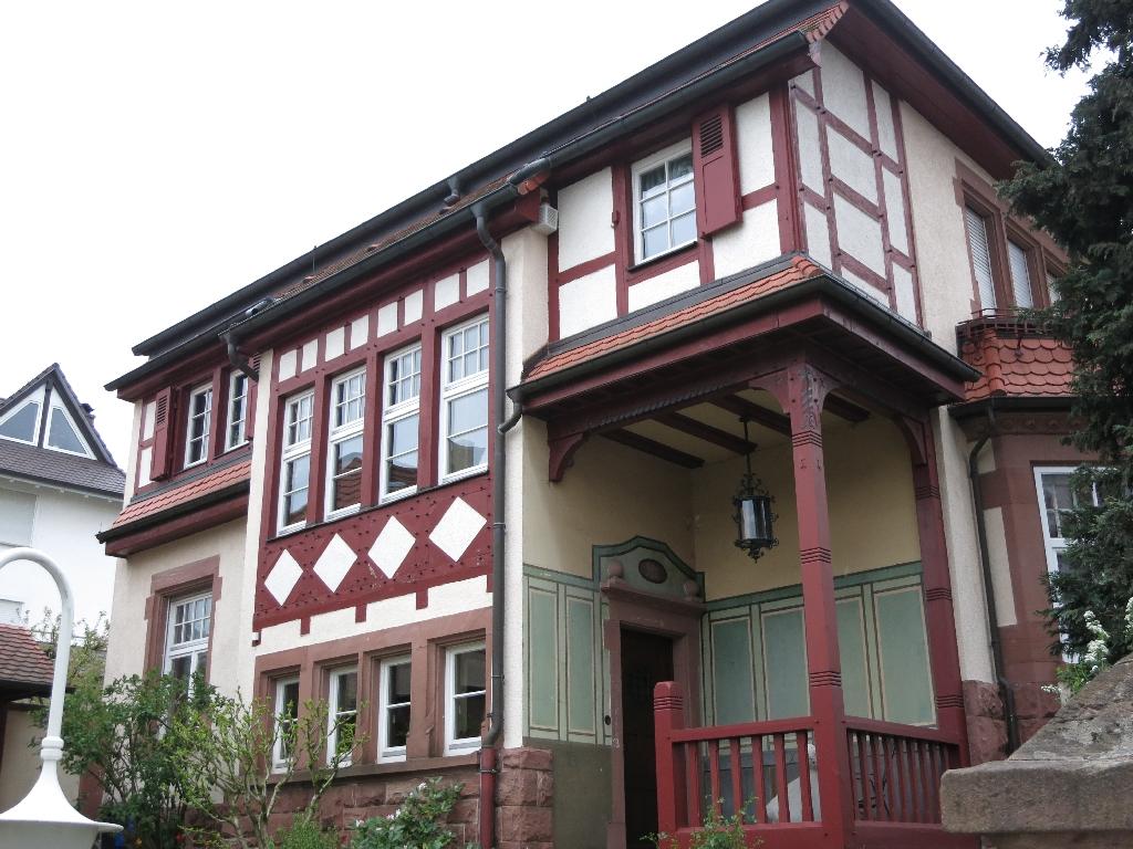 Prachtvolle Bauten in Weinheim