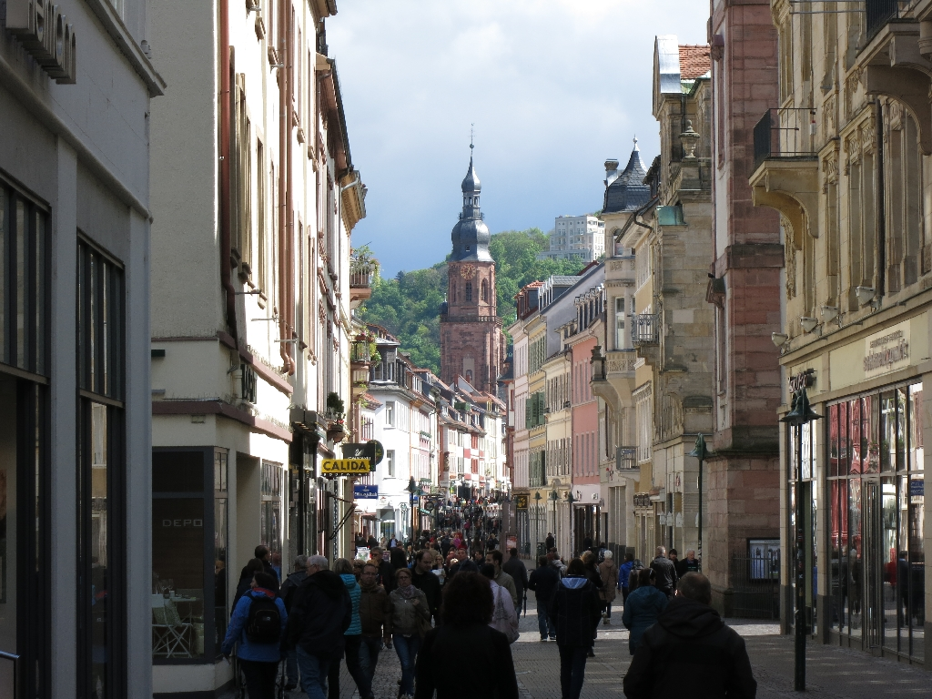 Downtown Heidelberg