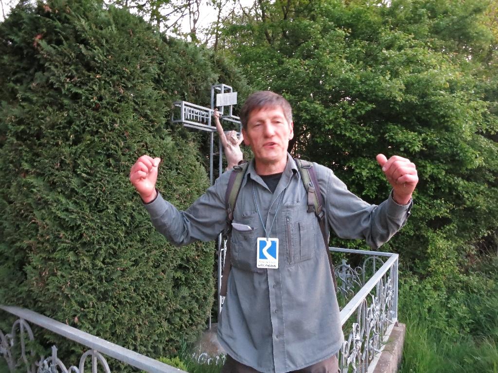 Wolfgang Django Blum am Gruber Kreuz
