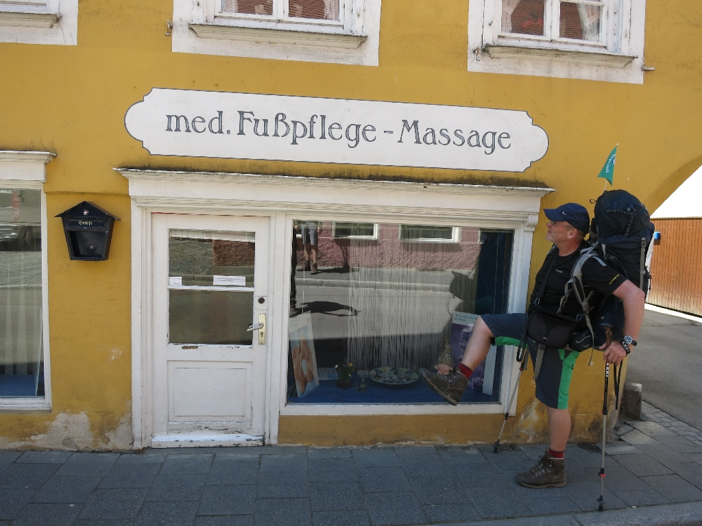Massage wär auch nicht schlecht...