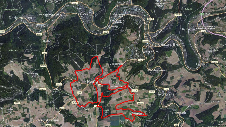 Dörlesberg 2014 GPS-Route