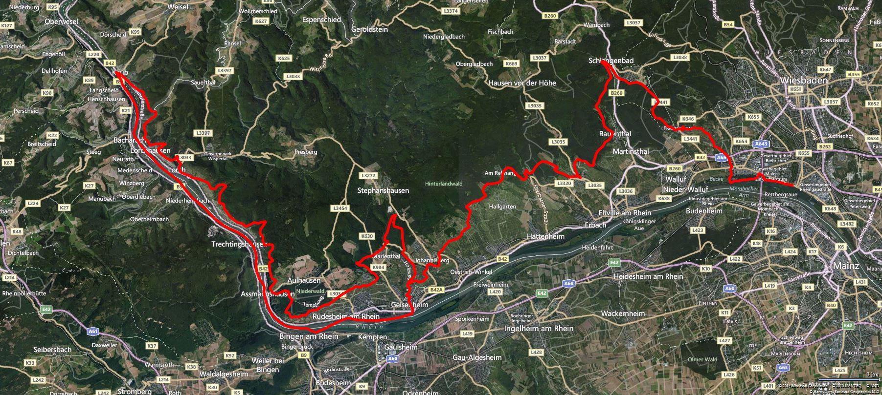 36 Stunden Rheinsteig Trail