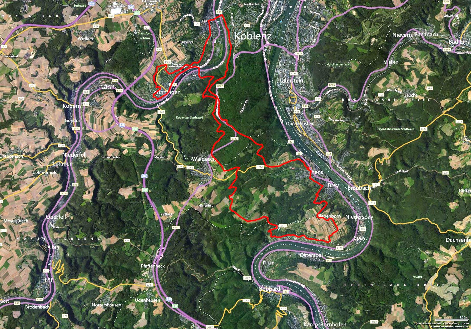 Koblenz Map2014