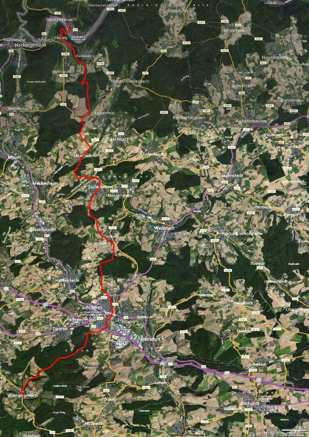 Main Stromberg Map