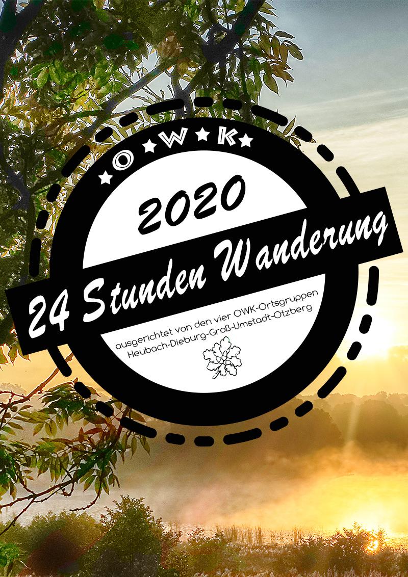 24 Stunden durch den Vorderen Odenwald 2020