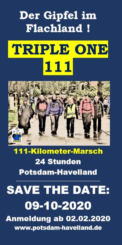 111 Kilometer Potsdam-Havelland
